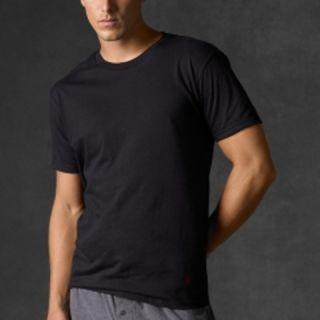 Polo Ralph Lauren 3 Pack Classic Cotton Crew Neck T Shirt Black Color