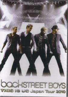Backstreet Boys This Is US Live Japan Tour 2010 DVD Concert Cheap