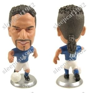 Baggio Italy Team Football Soccer Toy Doll Figure Star