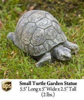 New Outdoor Backyard Garden Turtle Key Safe Statue Moss