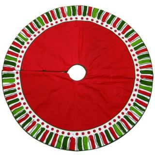 bagwell 54 cotton christmas tree skirt this festive christmas tree