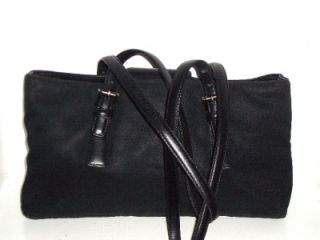 Microfiber Leather Satchel Shoulder Bag Handbag B2K 7426 RARE