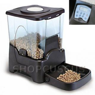 New Automatic Pet Dog Cat Feeder 4 Meal Timer Schedule