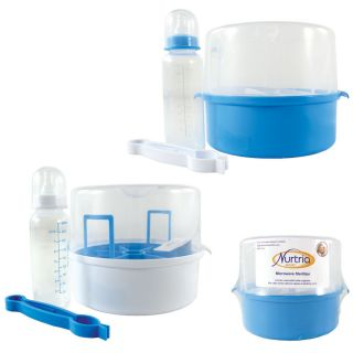 Nurtria Basic Microwave Sterilizer with Baby Bottle
