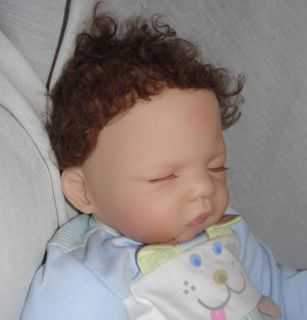 Ashton Drake Lifelike Baby Boy Doll So Truly Real Retired Luke by