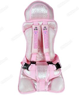 New Pink Baby Child Infant Car Safety Seat Auto Thick Cushion