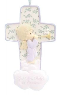 Precious Moments Babys First Christmas Angel in Star Christmas