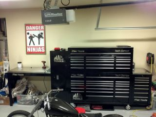 MAC Tools Complete Automotive Repair Shop Tool Equipment Setup