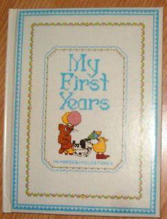 My First Years Memories Milestones Baby Record Book