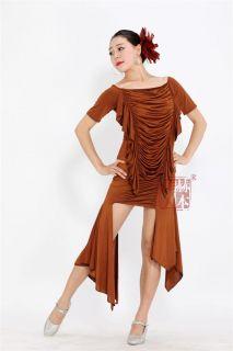 Latin Salsa Cha Cha Tango Ballroom Dance Dress Top Skirt P097