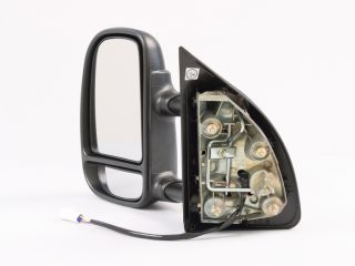 DS LH Power camper Tow Towing Side View Mirror Telescoping