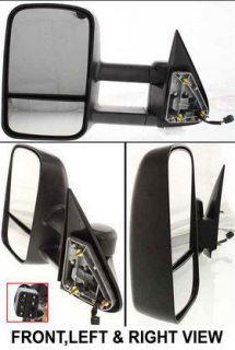 Silverado 2500 HD Power Heated Towing Mirror GMC Sierra WT LH