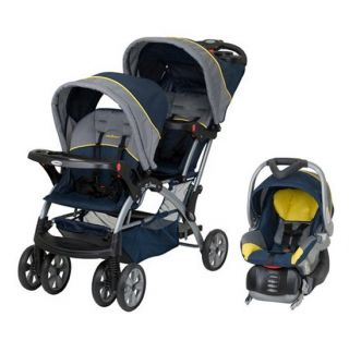 Baby Trend Sit N Stand Double Baby Stroller & Car Seat Travel System