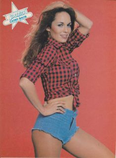 CATHERINE BACH MINI POSTER 2 1980 Original Pin Up THE DUKES OF HAZZARD
