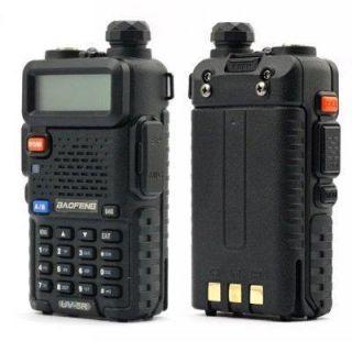 BAOFENG Dual Band Model UV 5R VHF UHF Dual Band Radio FM 65 108MHZ