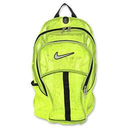 Nike Brasilia Mesh Backpack New with Tags Orange or Yellow