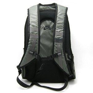 Nike SB Waxed Canvas Backpack Grey Black Duffle Cement