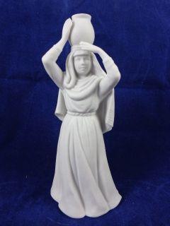 Avon 1990 Porcelain Water Bearer Woman Bearing Jar Christmas Nativity