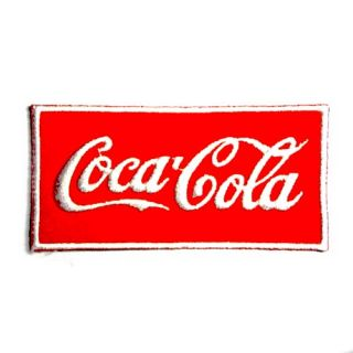 I0094 Coca Cola Banner Soda Drink Sew or Iron on Patch Embroidered