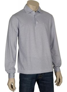 Ballantyne Italy Slim Cotton Long Sleeve Polo Shirt XXL