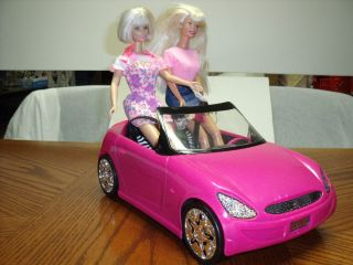 Barbie Doll Glam Convertible Pink Car Fashion Vehicle A 2 Barbie