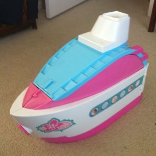 Mattel Barbie Dolls Cruise SHIP Boat Barbie Doll Dolphin and Pool