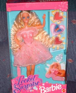Mattel Locket Surprise Barbie Doll New in Box 1993