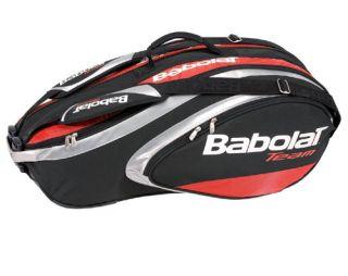 Babolat Team Line 6 Pack Tennis Racquet Bag Red New