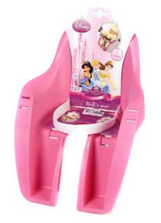 Cycle Bike Disney Princess Baby Dolls Dolly Carrier Seat Pink