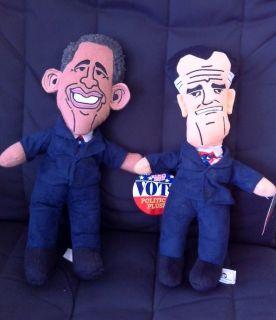 Barack Obama Political Plush Figure Stuffed Caricature Cartoon Sugar
