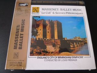 Massenet La CID Ballet Music JVC Japan XRCD Brand New