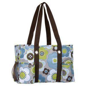 Organizing Utility Harvest Floral Baby Gym Sport Weekender Bag