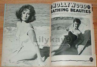 James Dean Elizabeth Taylor Swimsuit Rita Hayworth Bathing Beauties