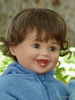 New in Box My Twinn Toddler Doll  Abby  Brunette Hair and Brown Eyes