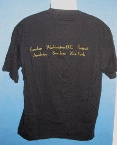 Barbra Streisand T Shirt Tee Shirt The Concert 1994 Tour Black 6