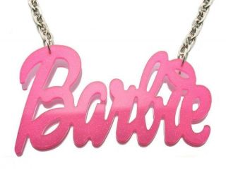 Acrylic Barbie Nicki Minaj Pendant 20 Necklace Chain