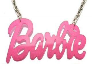 Acrylic Barbie Nicki Minaj Pendant 20 Necklace Chain