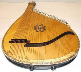 Old Ukrainian folk BANDURA 55 Strings.made in Kyiv, Ukraine