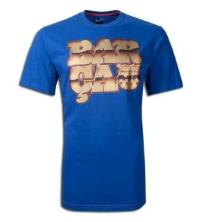 Nike Barcelona Core Tee T Shirt 2011 12 BNWT New Messi Ronaldinho