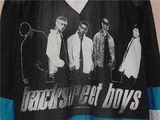 Backstreet Boys Vintage Concert Hockey Jerset Screened One Size Fits