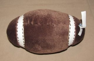 Pottery Barn Kids Brown Plush Football Toy Sound Decor