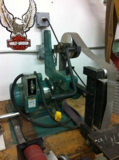 Bader III Belt Grinder 2HP 1 Phase Motor
