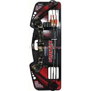 Barnett Vortex 45 lbs Camouflage Junior Youth Archery Bow Package
