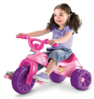 Fisher Price Barbie Tough Trike Princess Tricycle Big Wheels Bike Ride