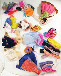 Big Lot Barbie Fashion Outfits Accessories Pants Dress Shoes Handbags