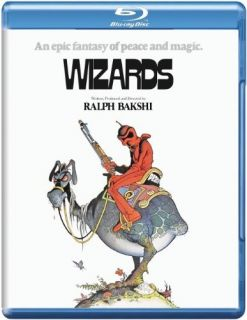 Wizards by Ralph Bakshi Blu Ray Disc Avatar vs Blackwolf Cult Classic