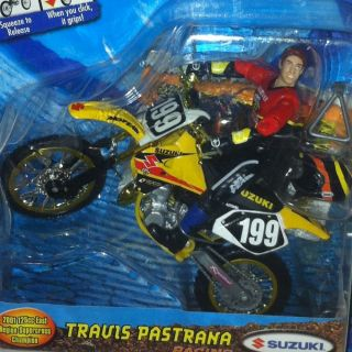 2001 Road Champs MXS Travis Pastrana Motocross Figure Bike