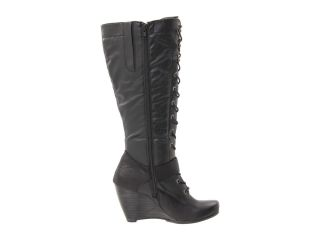 Bare Traps Shoes Womens Darleen Knee Hi Wedge Boots Black