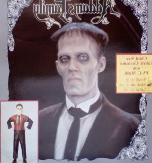 The Adams Family Lurch Child Halloween Costume 1992 MD