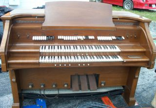 Vintage Church Organ Baldwin Model 10 Circa 57